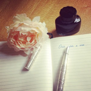 Fountain pen, Paper, Rose, Flower, Writing, Once Upon a Time, Instagram