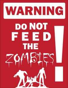 Don't Feed the Zombies, Deviantart, BeeniAktor