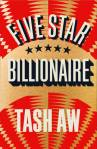 Five Star Billionaire, Tash Aw, Book, Waterstones, Man Booker Prize 2013